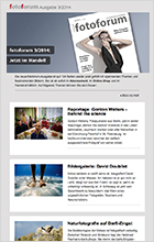 fotoforum Newsletter