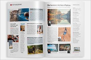 fotoforum Magazin, Zeitschrift für Fotografie und Präsentation, News