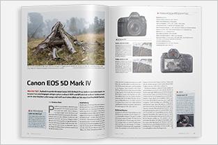 fotoforum Magazin, Zeitschrift für Fotografie und Präsentation, Praxis-Tests