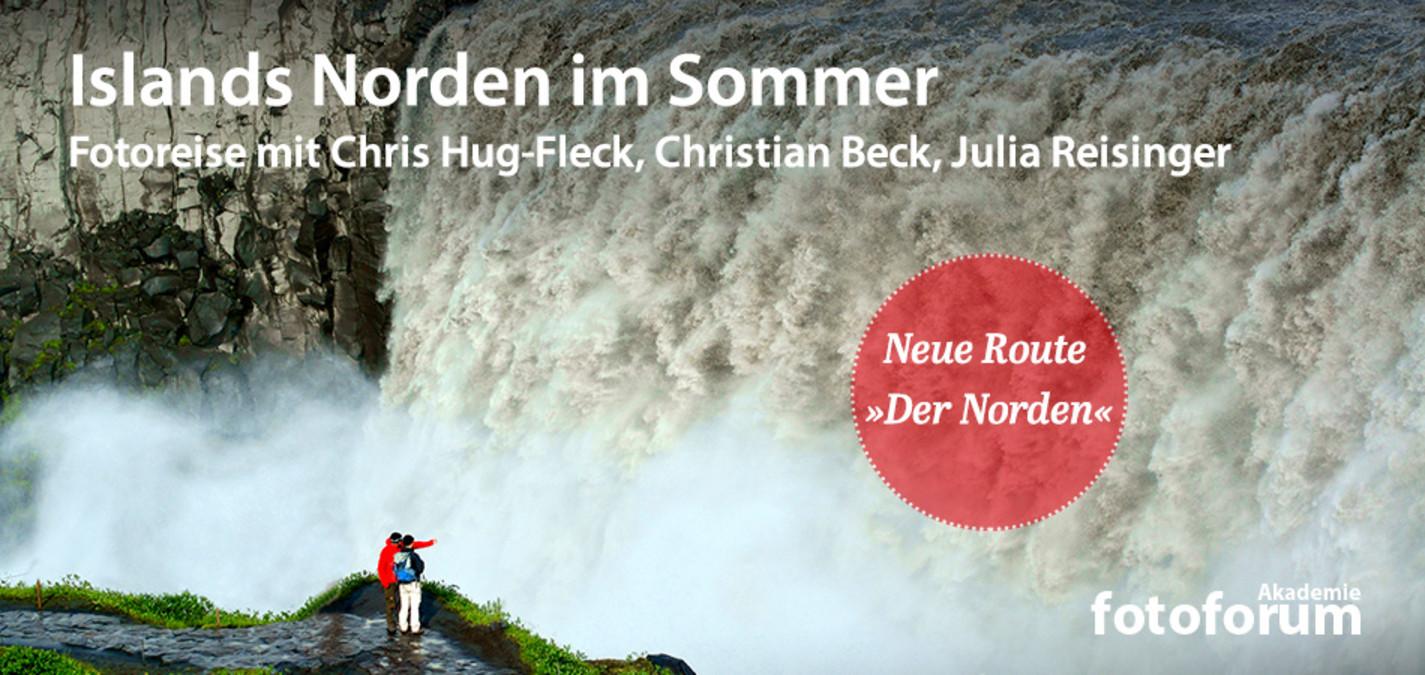 fotoforum Akademie: Fotoreise, Islands Norden im Sommer
