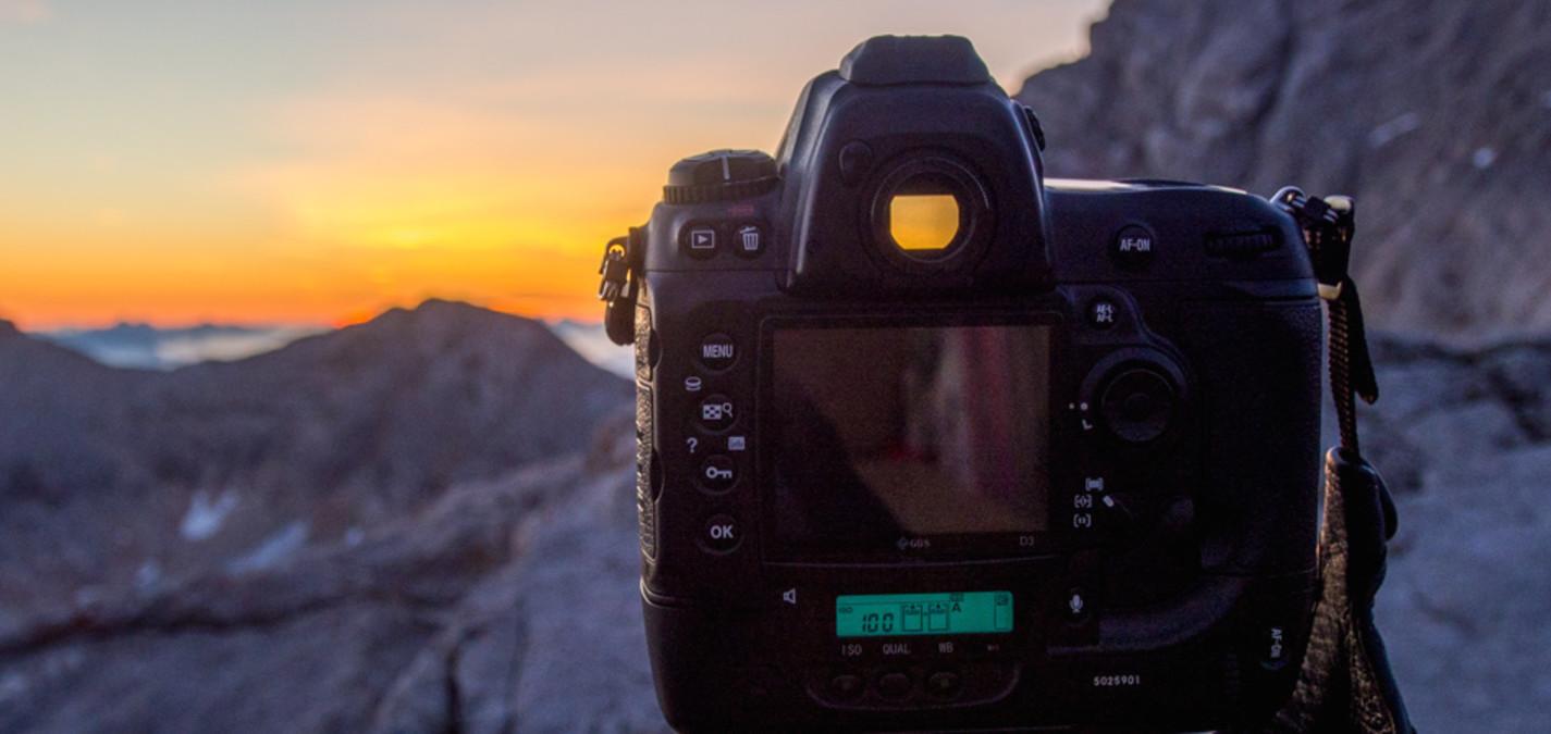 Sonnenaufgangfoto am Dachstein