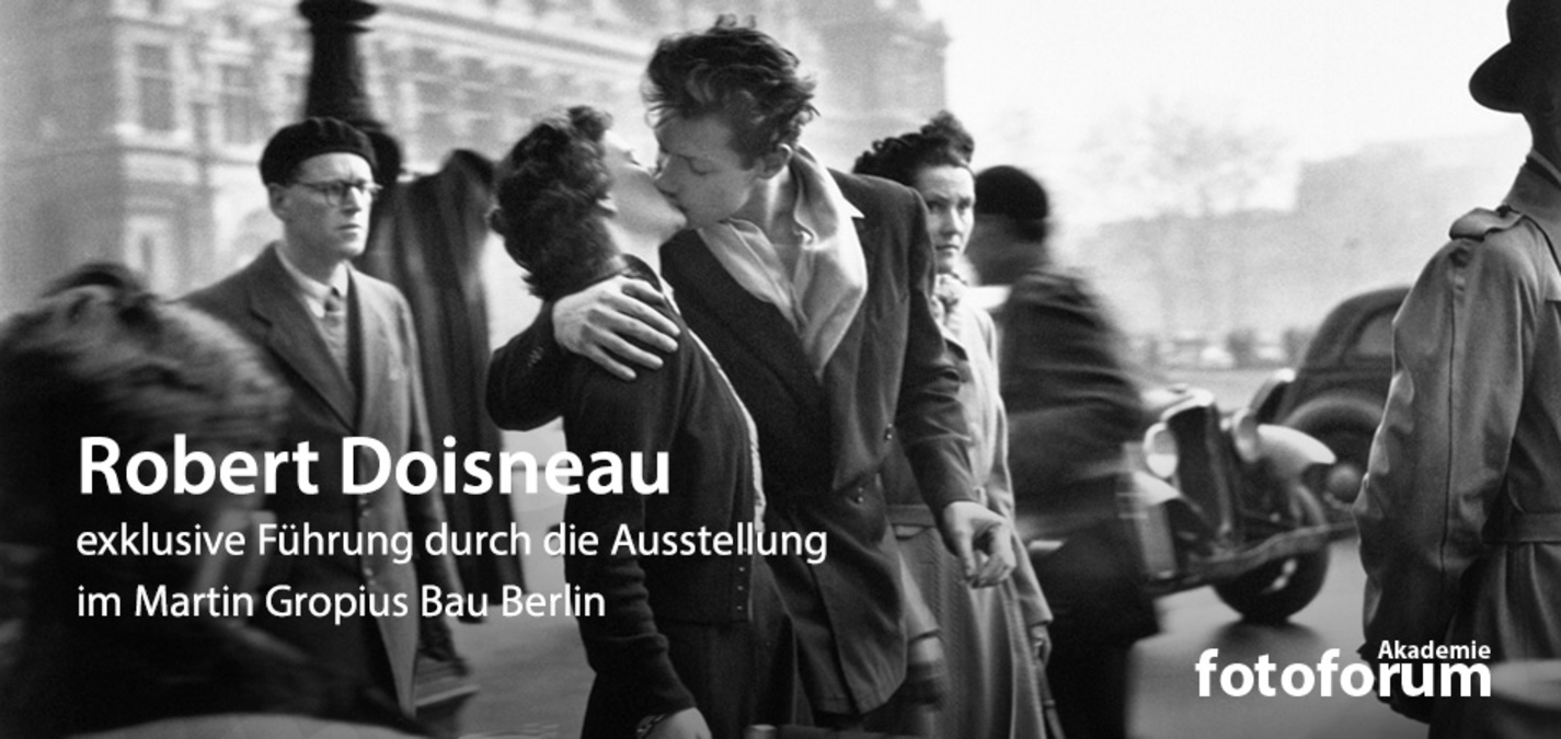 fotoforum Akademie: Robert Doisneau Ausstellung